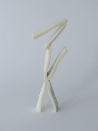 V-sculptures (white)